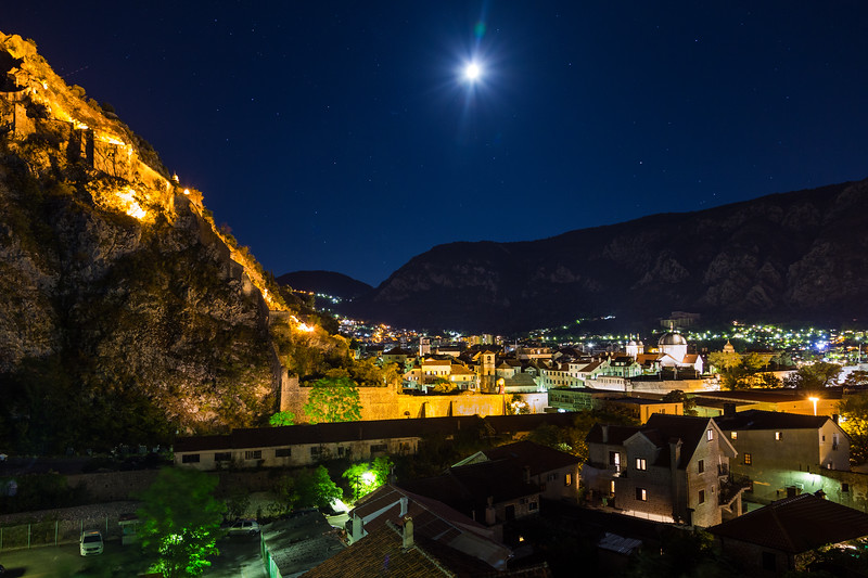 Kotor Old Town at Night
