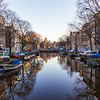 """View towards The Waag (""""weigh house"""")  in Amsterdam"""