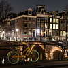Leidsegracht and Keizersgracht canal intersection in Amsterdam
