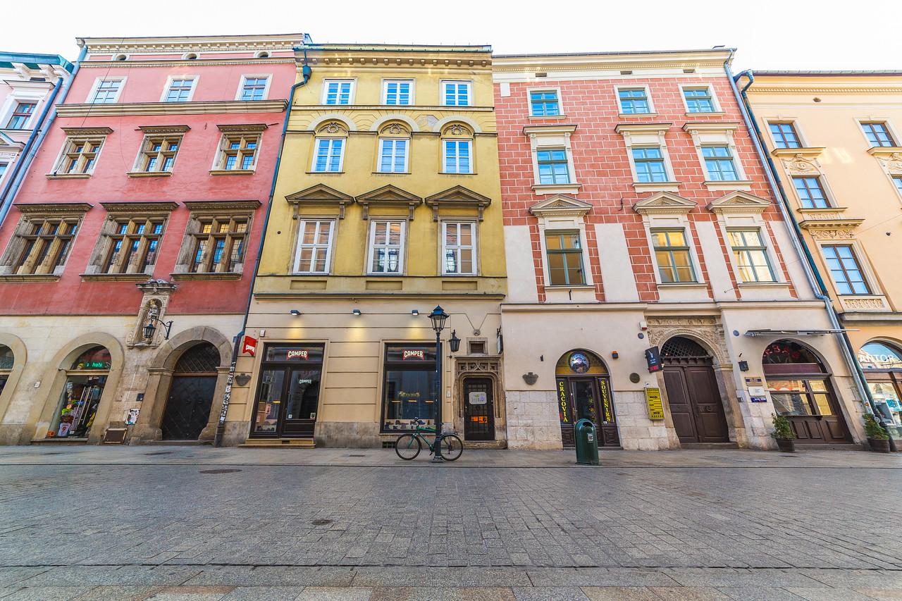 Florianska street in Krakow