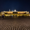 Cloth Hall on Rynek Glowny (Main Square) in Krakow at night