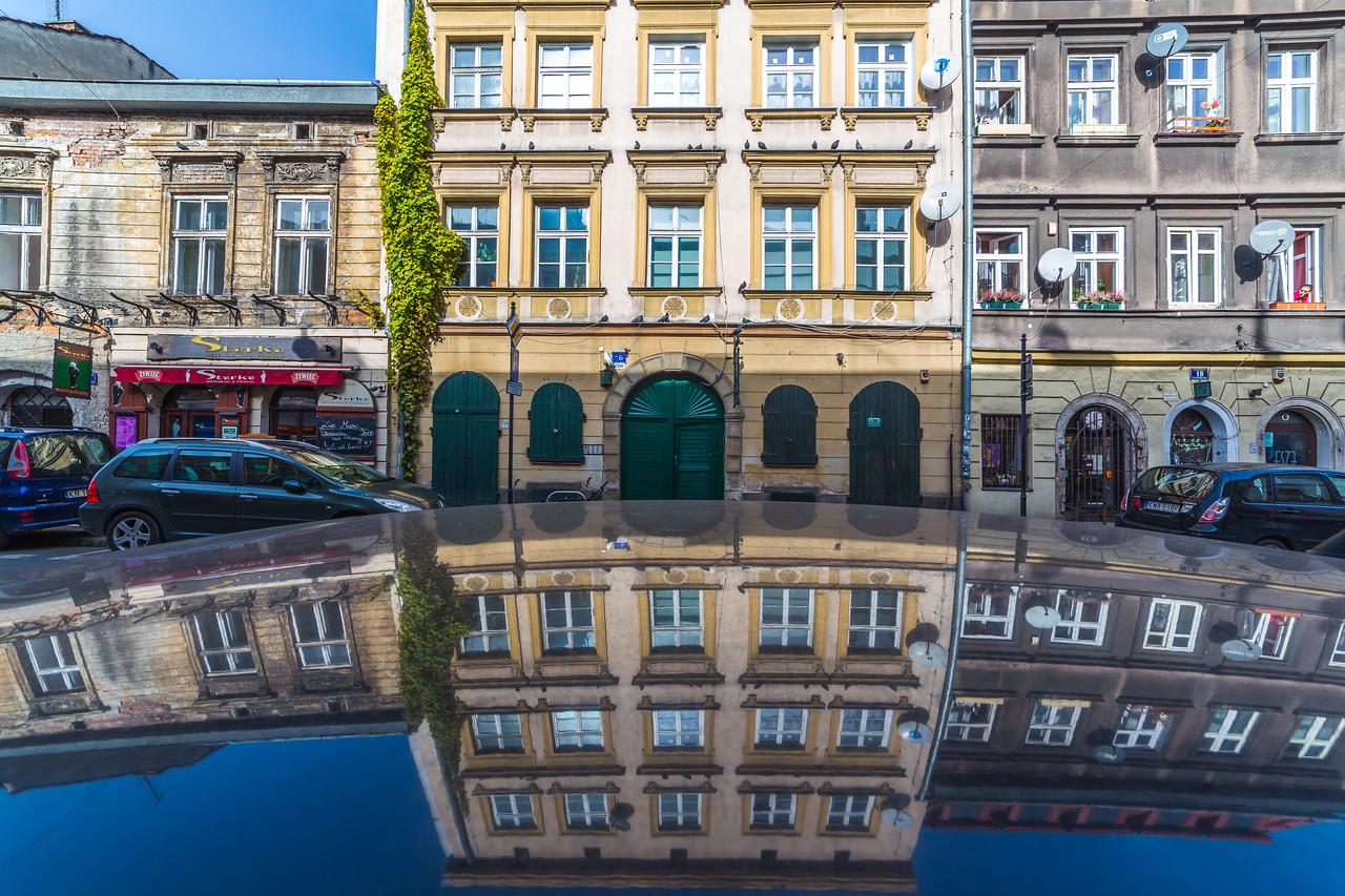 Architecture in Jozefa in Kazimierz, Krakow