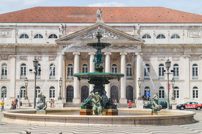 The Rossio (Praca Dom Pedro IV)