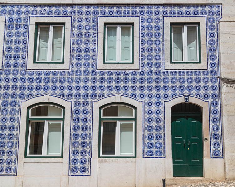 Beautiful facades in Lisbon