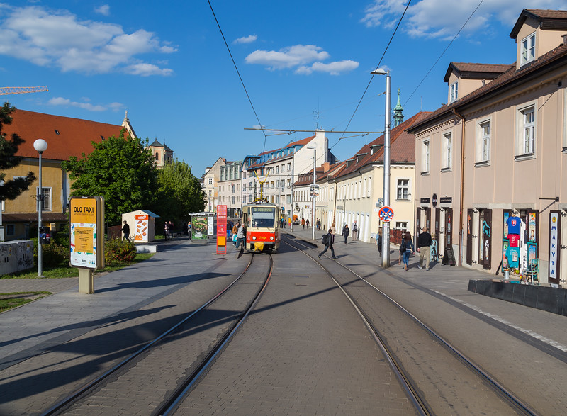 Trams and Streets in Bratislava