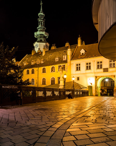 Michalska at Night