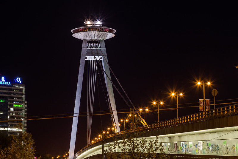 UFO Tower and Novy Most Bridge