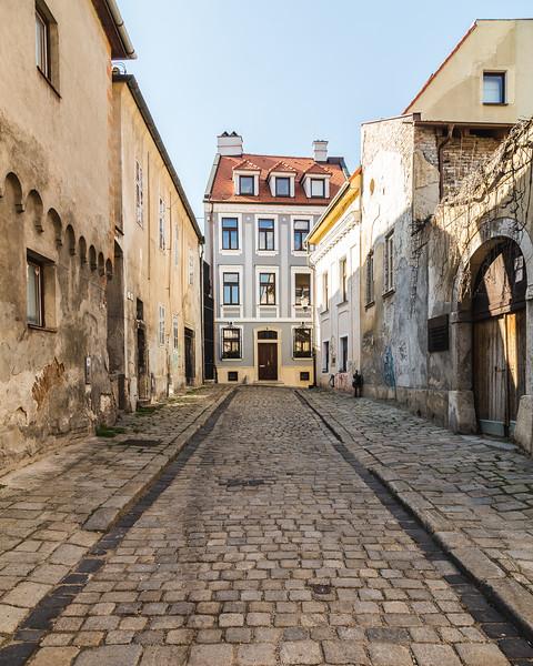 Old Streets in Bratislava