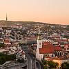 Bratislava Skyline at Sunset