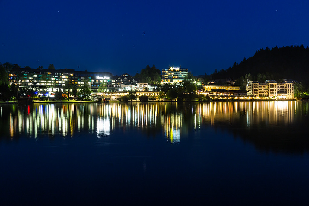 Bled Skyline at Night