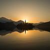 Bled Lake at Sunrise