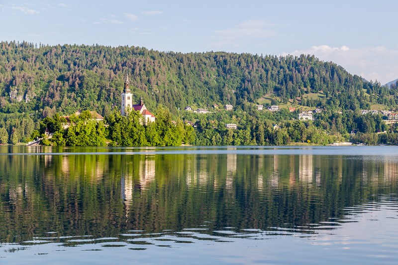 Church of the Assumption on Bled Lake