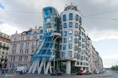 The Dancing House by Frank Gehry, Prague.