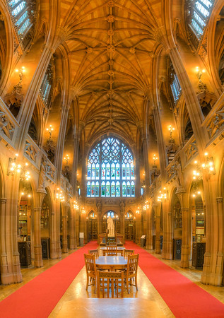 Manchester Library reading room