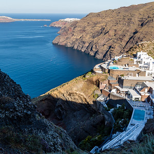 On the Path to Oia