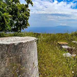 Roman Ruins, Ancient Thera