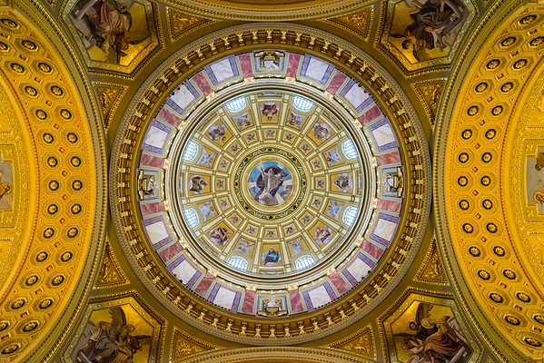 St. Stephen's Basilica dome detail