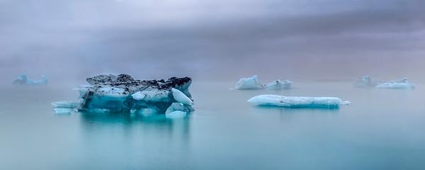 Iceburg Lagoon at Dawn
