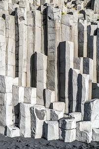 Basalt Columns in Vik (Portrait)