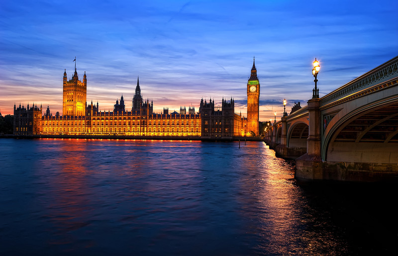 Painted Sky of Westminster Palace