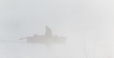 Fisherman in Fog