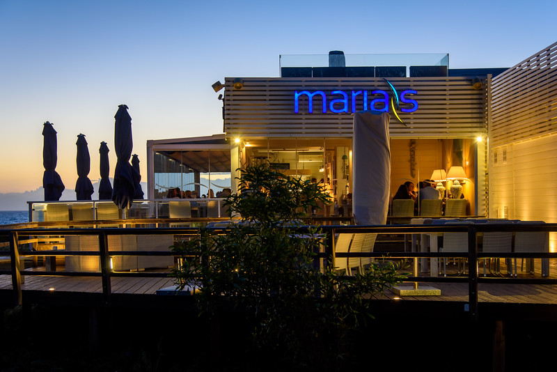 Maria's at night, Quinta do Lago