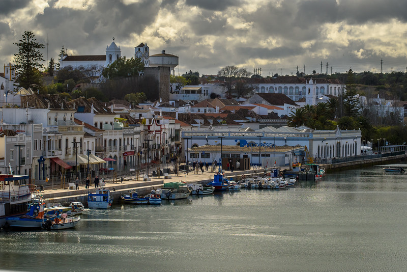 River and Castelo, Tavira, Algarve