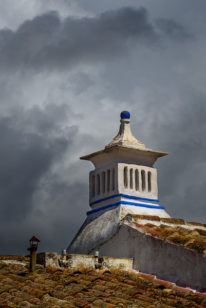 Roof top in Cacela Velha