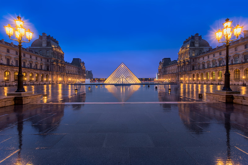 Louvre Reflections || Paris, France