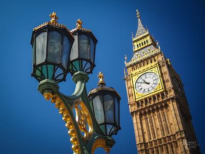 Westminster Blue & Gold