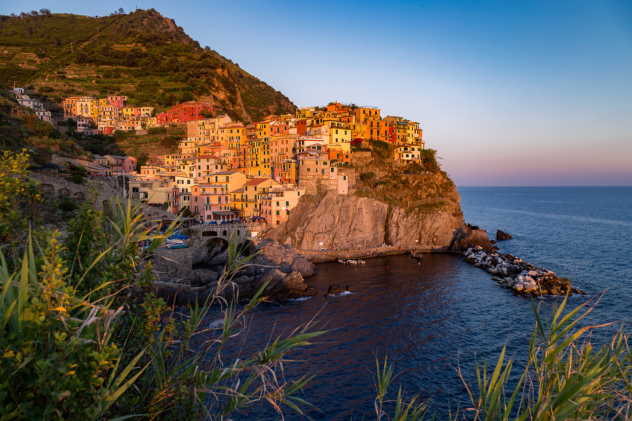 Shining City on the Hill || Manarola, Italy