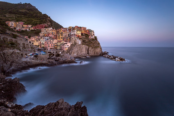 Still Life on the Rocks || Manarola, Italy