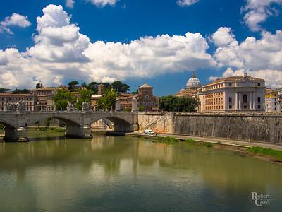 Across the Tiber
