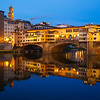 Blue Hour at the Ponte Vecchio