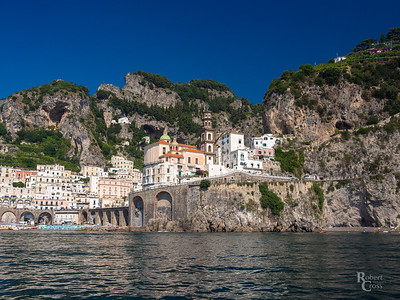 Atrani From the Sea