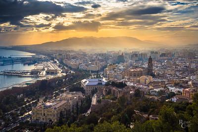 Vanilla Skies Over Málaga