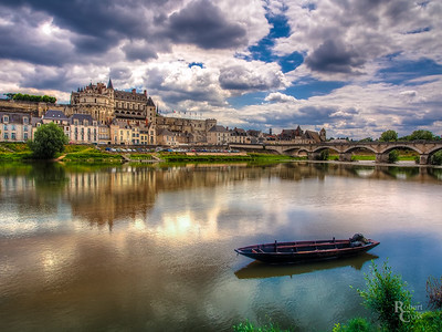 Clouds Over Amboise