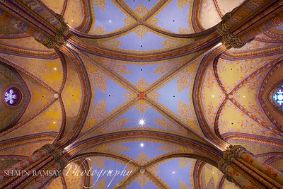 Matthias Church Ceiling
