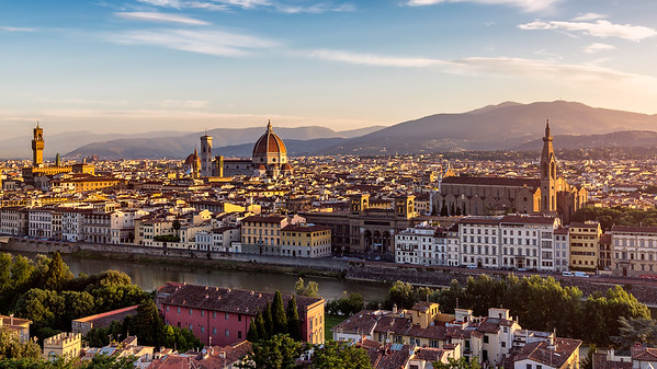 Golden Dawn || Florence, Italy