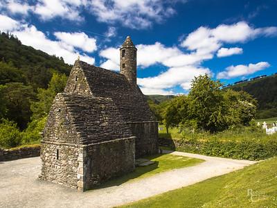 The Monastery at Glendalough