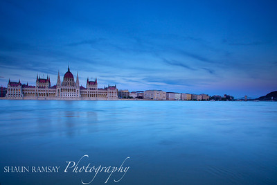 Hungarian Parliament and Chain Bridge