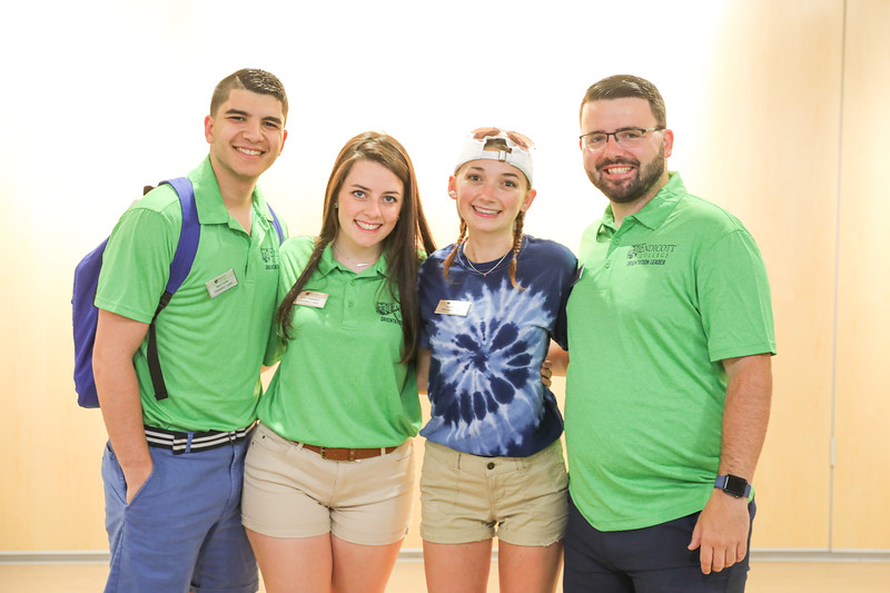 Endicott College summer orientation 2019.