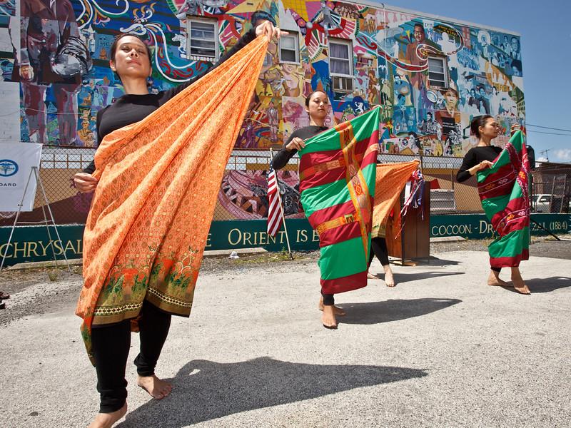 Filipino dancers in Northeast Philadelphia.