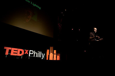 Director Jon Foy speaks at TEDxPhiladelphia in 2012.