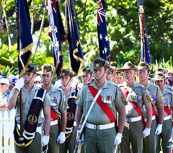 ANZAC Day service.