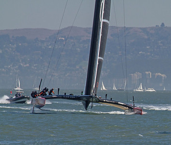 USA Oracle, up close; America's Cup 2013