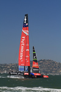 New Zealand Emirates; America's Cup 2013