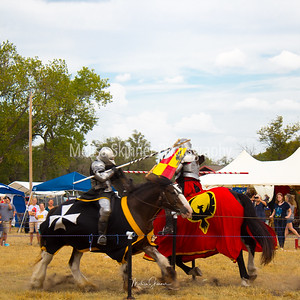 At the Joust