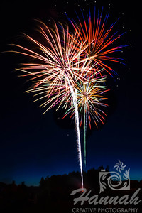 4th of July Fireworks at Forest Grove, Oregon (2013)  © Copyright Hannah Pastrana Prieto