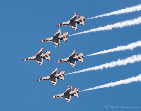 Thunderbirds - all 6 bottom view